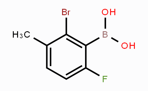 MC453720 | 957121-09-4 | 2-Bromo-6-fluoro-3-methylphenylboronic acid