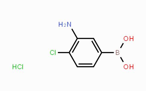 MC453743 | 850568-45-5 | 3-Amino-4-chlorophenylboronic acid hydrochloride