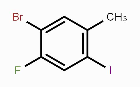 861928-20-3 | 5-Bromo-4-fluoro-2-iodotoluene