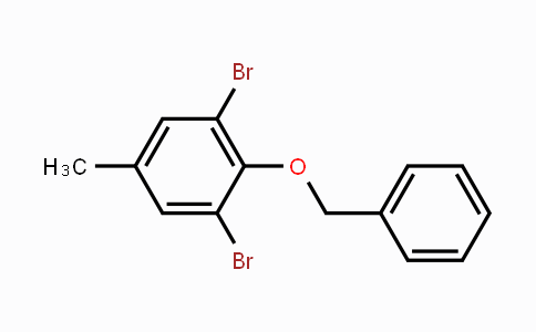 84379-34-0 | 1,3-Dibromo-5-methyl-2-(phenylmethoxy)- benzene