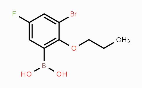 868272-84-8   3-Bromo-5-fluoro-2-propoxyphenylboronic acid