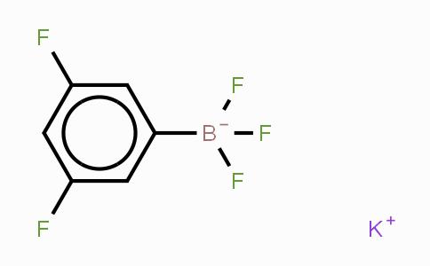 267006-26-8 | Potassium(3,5-difluorophenyl)trifluoroborate