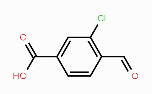 58588-59-3 | 3-Chloro-4-formylbenzoic acid