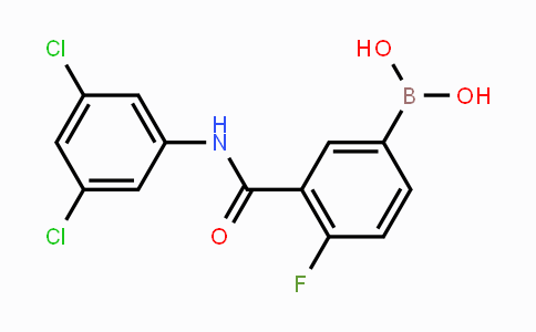 1451393-28-4 | 3-(3,5-dichlorophenylcarbamoyl)-4-fluorophenylboronic acid