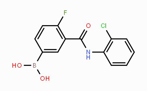 MC453869 | 1451393-31-9 | 4-Fluoro-3-(2-chloro-phenylcarbamoyl)phenylboronic acid