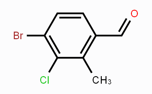 MC453878 | 1224604-13-0 | 4-Bromo-3-chloro-2-methylbenzaldehyde