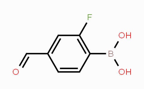 871126-22-6 | 2-Fluoro-4-formylphenylboronic acid