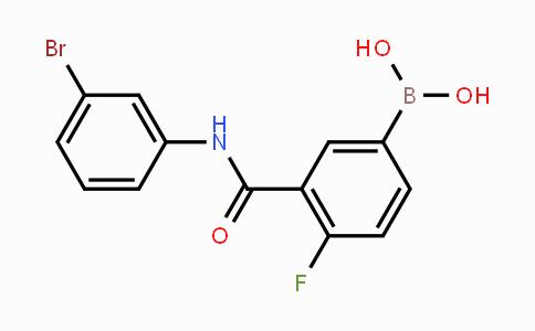 1451393-30-8 | 3-(3-Bromophenylcarbamoyl)-4-fluorophenylboronic acid