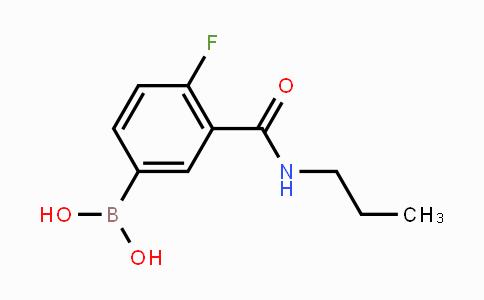 874219-32-6 | 4-Fluoro-3-(N-propylcarbamoyl)phenylboronic acid