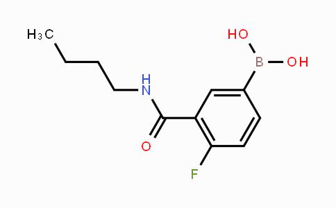 874219-23-5 | 3-(N-Butylcarbamoyl)-4-fluorophenylboronic acid