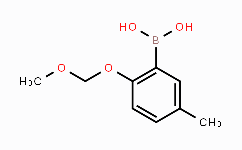 478685-71-1 | 2-(Methoxymethoxy)-5-methylphenylboronic acid