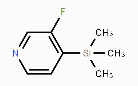DY453905 | 77332-77-5 | 3-Fluoro-4-(trimethylsilyl)pyridine