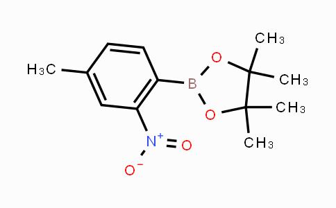 MC453915 | 1256359-10-0 | 4-Methyl-2-nitrophenylboronic acid pinacol ester