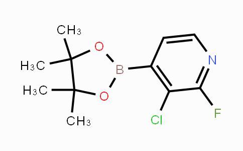MC453929 | 1073353-71-5 | 3-Chloro-2-fluoropyridine-4-boronic acid pinacol ester
