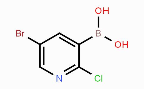 1072944-19-4 | 5-Bromo-2-chloropyridine-3-boronic acid