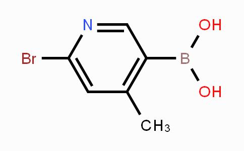 1072945-75-5 | 6-Bromo-4-methylpyridine-3-boronic acid