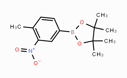 1072945-06-2 | 4-Methyl-3-nitrophenylboronic acid pinacol ester