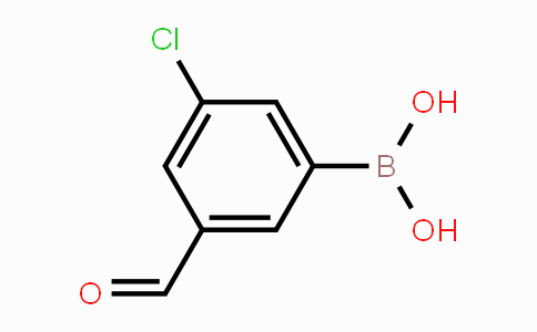1451393-35-3 | 3-Chloro-5-formylphenylboronic acid