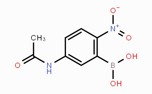 DY453960 | 78887-36-2 | 5-Acetamido-2-nitrophenylboronic acid