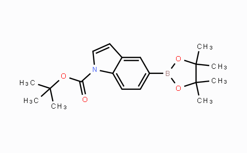 DY453963 | 777061-36-6 | tert-Butyl 5-(4,4,5,5-tetramethyl-1,3,2-dioxaborolan-2-yl)-1H-indole-1-carboxylate