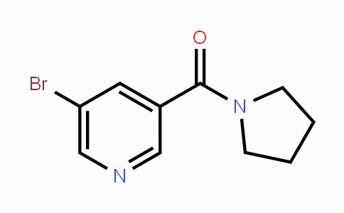 1090388-79-6 | 5-Bromo-3-(pyrrolidin-1-ylcarbonyl)pyridine
