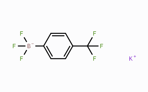 166328-08-1 | POTASSIUM 4-(TRIFLUOROMETHYL)PHENYLTRIFLUOROBORATE