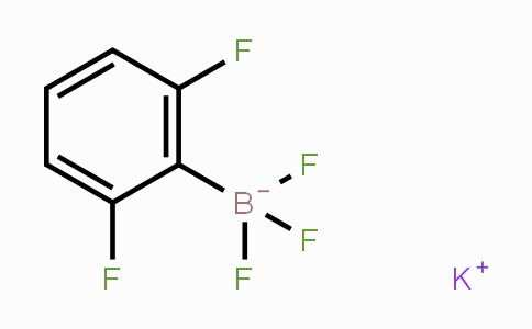 267006-25-7 | POTASSIUM (2,6-DIFLUOROPHENYL)TRIFLUOROBORATE