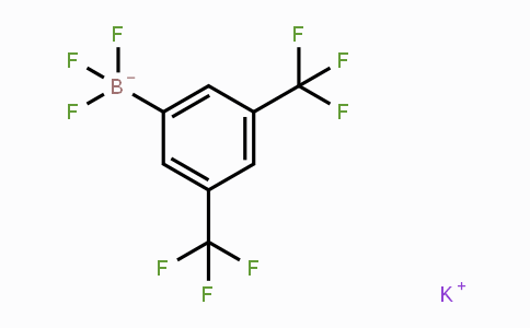 166328-09-2 | Potassium [3,5-bis(trifluoromethyl)phenyl]trifluoroborate