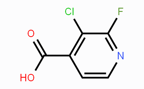 MC454017 | 741683-19-2 | 3-Chloro-2-fluoropyridine-4-carboxylic acid