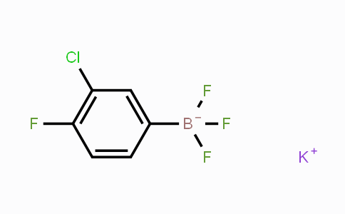 MC454040 | 850623-59-5 | Potassium (3-chloro-4-fluorophenyl)trifluoroborate