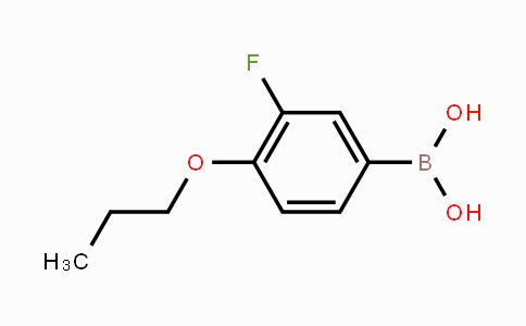 MC454054 | 192376-68-4 | 3-Fluoro-4-propoxyphenylboronic acid