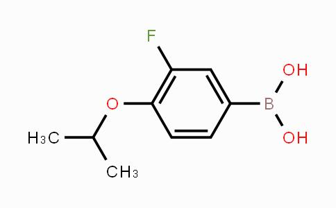 MC454058 | 480438-54-8 | 3-Fluoro-4-isopropoxyphenylboronic acid