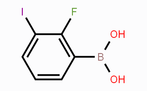 1016231-39-2   2-Fluoro-3-iodophenylboronic acid