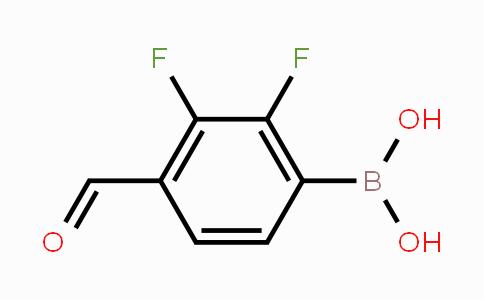 480424-84-8 | 2,3-Difluoro-4-formylphenylboronic acid