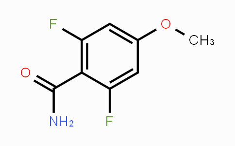 125369-57-5 | 2,6-Difluoro-4-methoxybenzamide