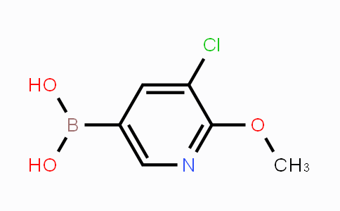 942438-89-3 | 3-Chloro-2-methoxypyridine-5-boronic acid