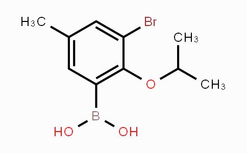 MC454159 | 870718-01-7 | 3-Bromo-2-isopropoxy-5-methylphenylboronic acid
