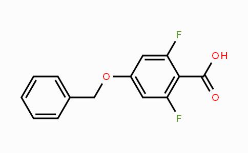 335140-79-9 | 4-Benzyloxy-2,6-difluorobenzoic acid