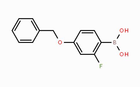 166744-78-1 | 4-Benzyloxy-2-fluorophenylboronic acid