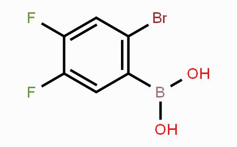 849062-34-6 | 2-Bromo-4,5-difluorophenylboronic acid