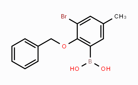 870777-20-1 | 2-Benzyloxy-3-bromo-5-methylphenylboronic acid