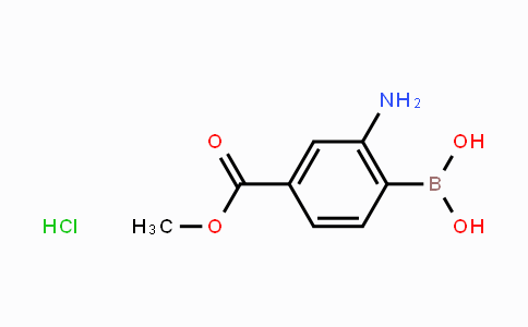 MC454203 | 380430-55-7 | 2-Amino-4-methoxycarbonylphenylboronic acid HCl