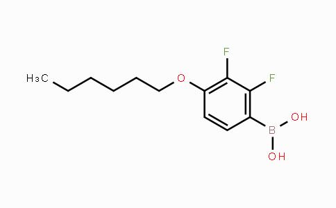 MC454211 | 121219-20-3 | 2,3-Difluoro-4-(n-hexyloxy)phenylboronic acid