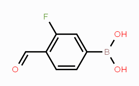 248270-25-9 | 3-Fluoro-4-formylphenylboronic acid