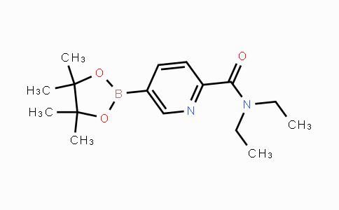 DY454242 | 911227-46-8 | 5-(4,4,5,5-Tetramethyl-[1,3,2]dioxaborolan-2-yl)-pyridine-2-carboxylic acid diethylamide