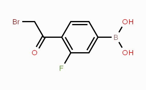 MC454268 | 481725-36-4 | 4-Bromoacetyl-3-fluorophenylboronic acid