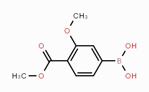 603122-41-4 | 3-Methoxy-4-methoxycarbonylphenylboronic acid