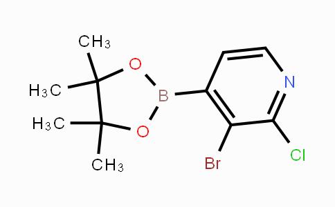1315351-37-1 | 3-Bromo-2-chloropyridine-4-boronic acid pinacol ester