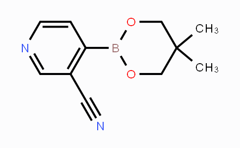 DY454307 | 868944-73-4 | 3-Cyano-4-(5,5-Dimethyl-[1,3,2]dioxaborinan-2-yl)-pyridine