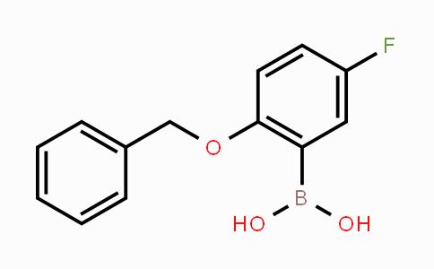 779331-47-4 | 2-Benzyloxy-5-fluorophenylboronic acid